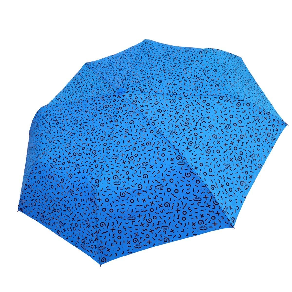 Ombrello mini H-130 (paperella) azzurro aperto - H.2.O