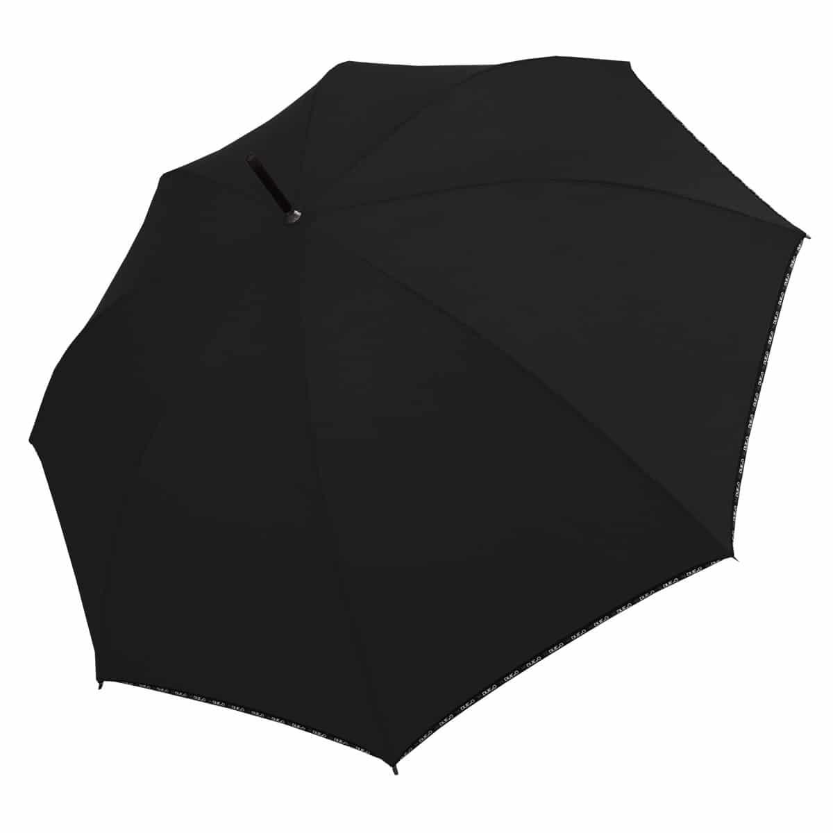 Ombrello H-400 nero aperto - H.2.O