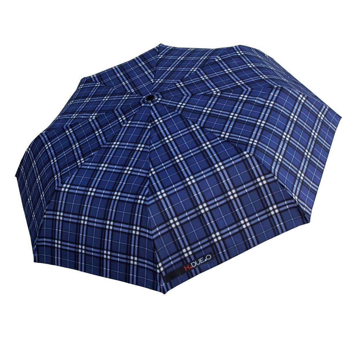 Ombrello mini H-605 blu aperto - H.2.O