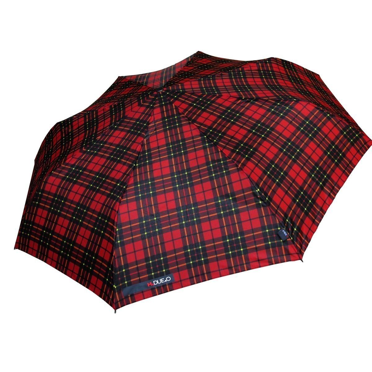 Ombrello mini H-605 rosso aperto - H.2.O